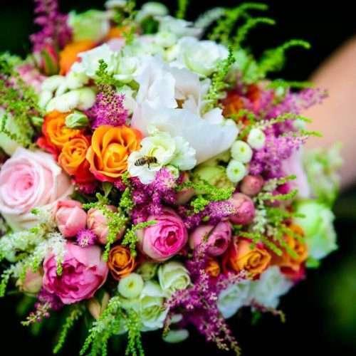Svatební kytice kurzy